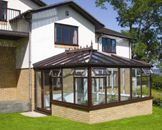 Traditional Hardwood Conservatory